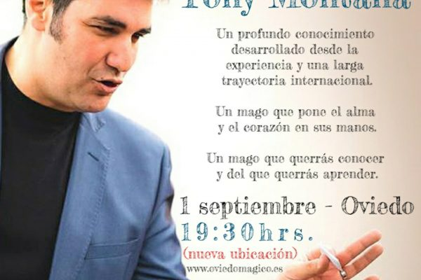 CONFERENCIA DE TONY MONTANA